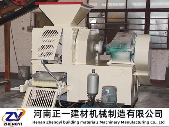 矿粉压球机的安装与后期生产的联系