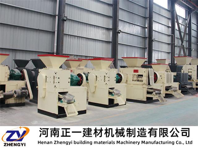 型煤压球机在型煤物料上的选择