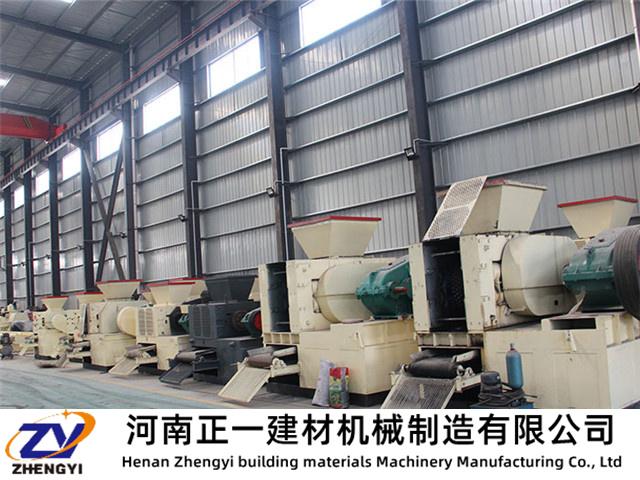 矿粉压球机保质保量获得长远发展