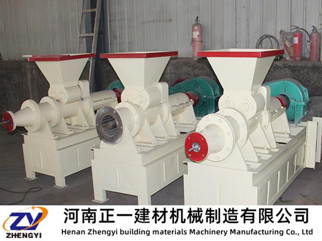 型煤设备工作应避免超负荷运转