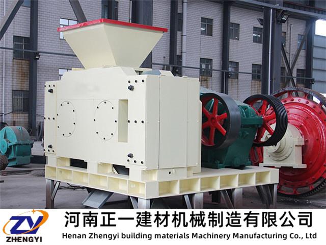 型煤压球机产量与供料均匀的关系